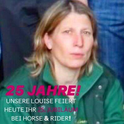 25 JAHRE Louise Kühl bei Horse & Rider Luhmühlen - 25 JAHRE Louise Kühl bei Horse & Rider Luhmühlen