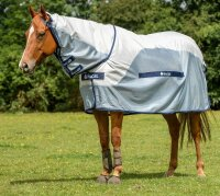 Bucas Buzz-off Rain Full Neck 165 Silver/blue