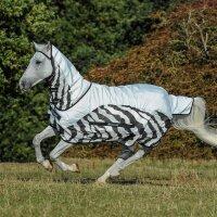 Bucas Buzz-off Rain Zebra Full Neck 115