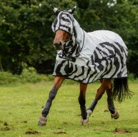 Bucas Buzz-off Rain Zebra Full Neck 115