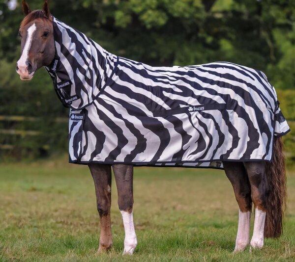 Bucas Buzz-Off Fliegendecke Zebra Full Neck