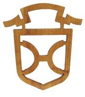 Holsteiner-Brand aus Holz