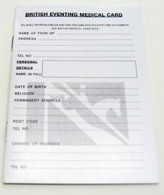 Medical Card Inlay
