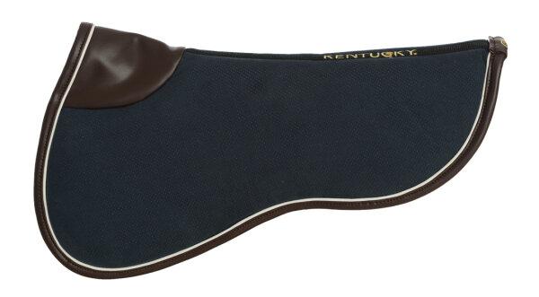 Kentucky Horsewear Sattelpad Absorb Marine-Weiss-Braun