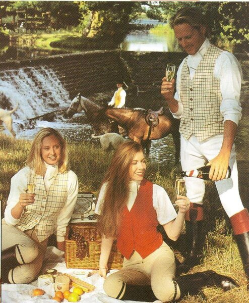 Mears Jagdweste York Ladies