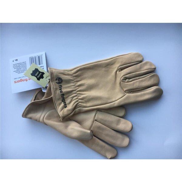 Lederhandschuh Five Fingers