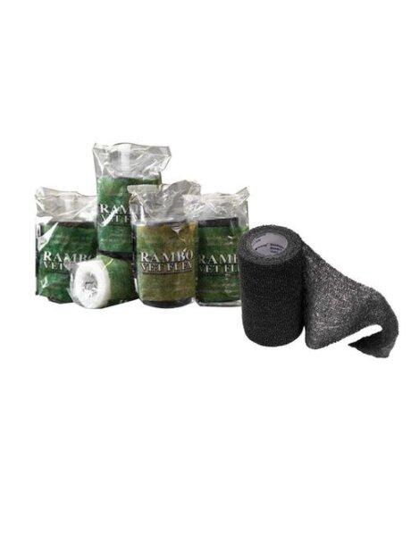 Horseware Rambo Vet Flex Bandage selbsthaftend schwarz