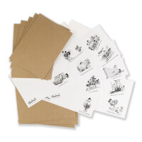 Correspondence Cards Thelwell 10 Stück/Set  Pony...