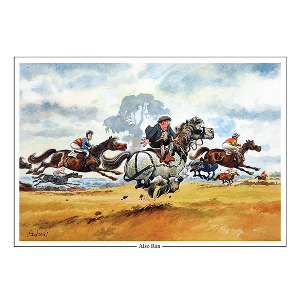 Thelwell Karte Also Ran