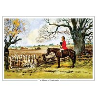 Thelwell Karte  Master of Foxhounds
