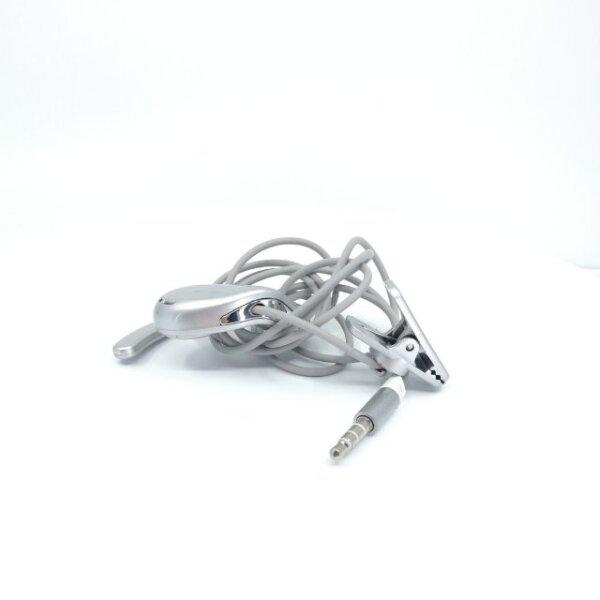 Whis e shape earphone Ohrhörer design, silber