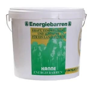 Kanne Energiebarren 5 KG Eimer