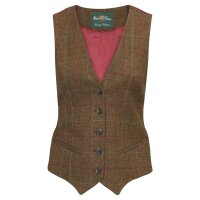 Alan Paine Damen Tweed Weste Surrey hazel