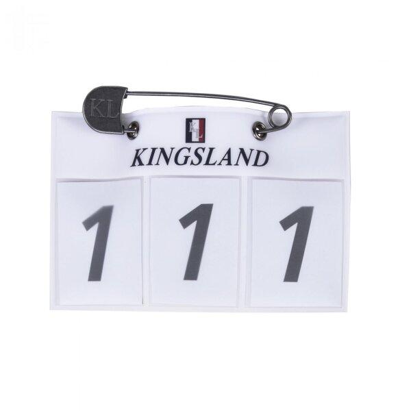 Kingsland Startnummern blau