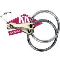 Sprenger KK Ultra Unterlegtrense dopplet gebrochen Sensogan/Edelstahl Ringe 12mm