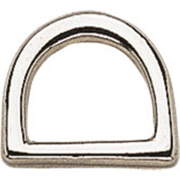 Sprenger D-Ring, Argentan poliert