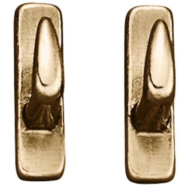Sprenger Zaumhaken, Messing poliert 5 X 18mm