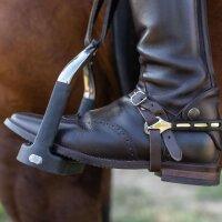 Sprenger Ultra Fit Extra Grip Sporen mit Vertik.Comfort Roller 25mm