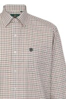 Alan Paine Ilkley Mens Shirt check country Red