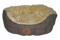 USG Country Dog Hundekörbchen im Tweed Look
