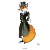 Bryn Parry Karte - Foxy Lady