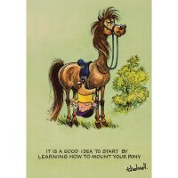 Thelwell Karte - Learning to Ride