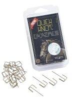 Busse Einflechthilfe Quick Knot XL (100 Stck) braun