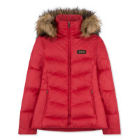 Musto Burghley Quilted 2 In 1 Jacket Lava Red