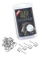 Busse Einflechthilfe Quick Knot XL (100 Stck) schwarz