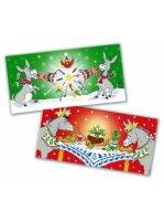Christmas Cracker & Christmas Dinner Karten 10stck (...