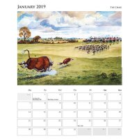Thelwell Sporting Kalender,  large