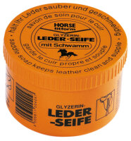 Horse Fitform® Sattelseife LEDERSEIFE mit Schwamm...