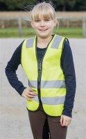 Busse Reflektor-Weste Shine-Kids gelb CS