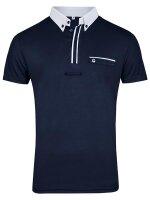 Busse Herren Turnier-Shirt Owen-Man II navy (weiß)