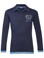 Busse Polo-Shirt KIDS COLLECTION LS VI navy (stars)