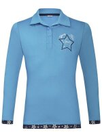 Busse Polo-Shirt KIDS COLLECTION LS VI teal (stars)