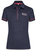 Busse Polo-Shirt KIDS COLLECTION VII navy (flower)