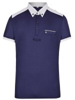 Busse Herren Turnier-Shirt Alan-Man navy (weiß)