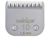 Heiniger Scherkopf SAPHIR #10/1.5mm Stahl #10/1.5mm