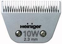Heiniger Scherkopf SAPHIR #10W/2.3 mm Stahl #10W/2.3 mm