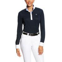 Ariat Damen Turniershirt Sunstopper Pro Show Shirt Dark...