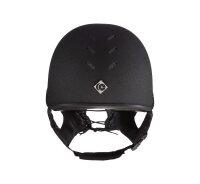 Charles Owen Geländehelm MS1 Pro Jockey Skull black