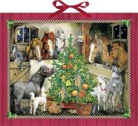 Adventskalender: Pferde-Weihnacht