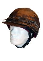 Racesafe Helmüberzug aus Lycra quarted rot /weiß