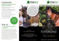 Charline Futterkohle Pferd Pellet 3 kg