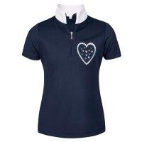Busse Turnier-Shirt LINA navy (Herz)