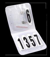 Waldhausen Kopfnummern Set oval 4-stellig
