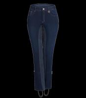 Waldhausen Jeansjodhpurreithose Dorit jeansblau/nachtblau
