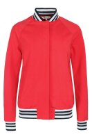 Harcour Damen College-Jacke Aix Teddy Red