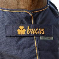Bucas Weidedecke Irish Turnout Light 50g Navy/Gold